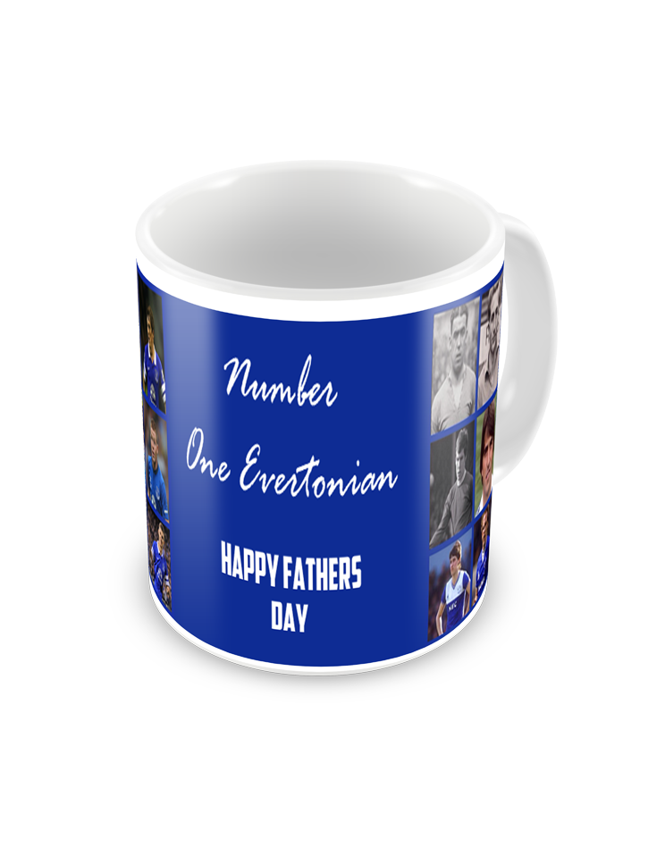 Everton Famous Number 9 Coffee Mug
