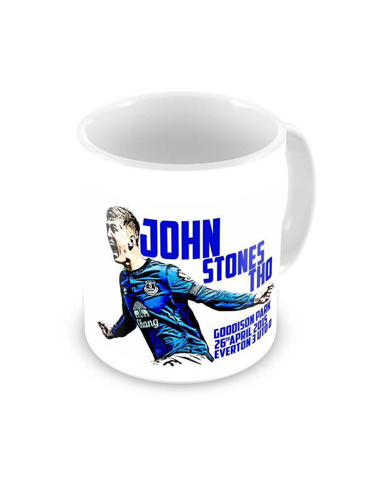 Everton John Stones Coffee Mug