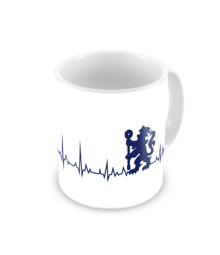 Chelsea Heartbeat Printed Coffee Mug