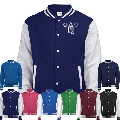 Everton FC Retro Varsity Jacket