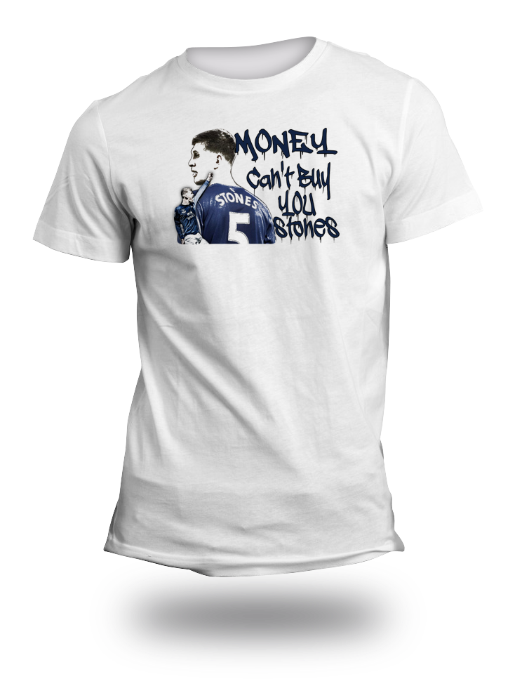 Money Cant Buy You Stones Everton TShirt