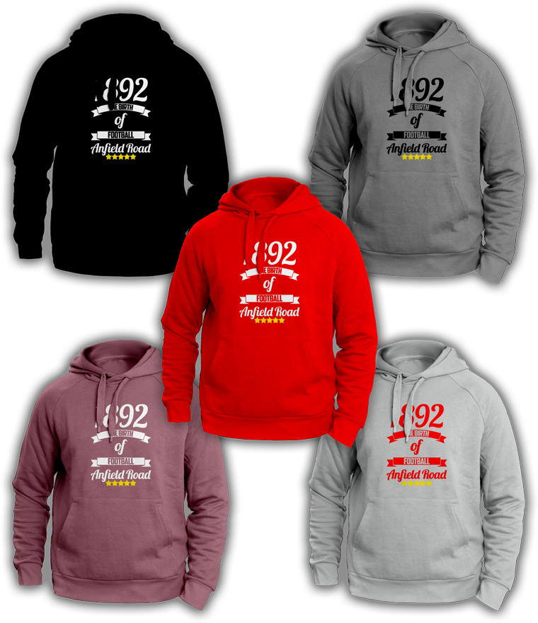 Liverpool 1892 The Birth Of Football Hoody