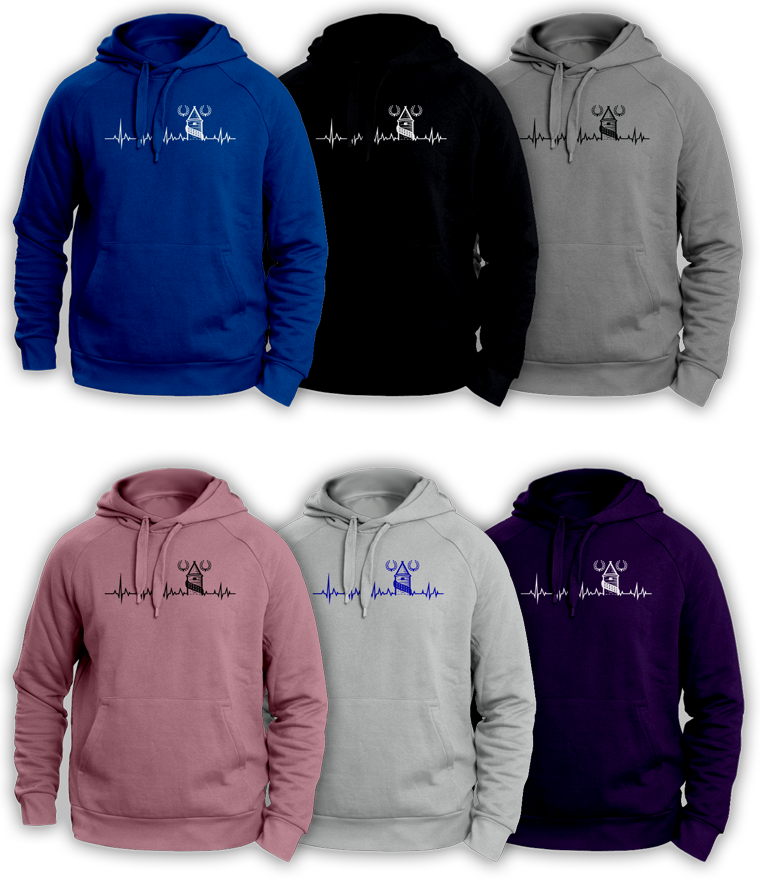 Everton Heart Beat Hoody