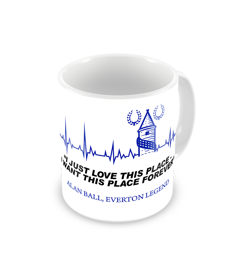 Alan Ball Famous Everton Quote Coffee Mug