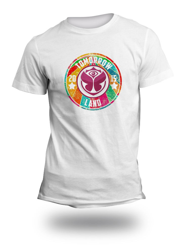 Tomorrow Lands Festival Coloured TShirt