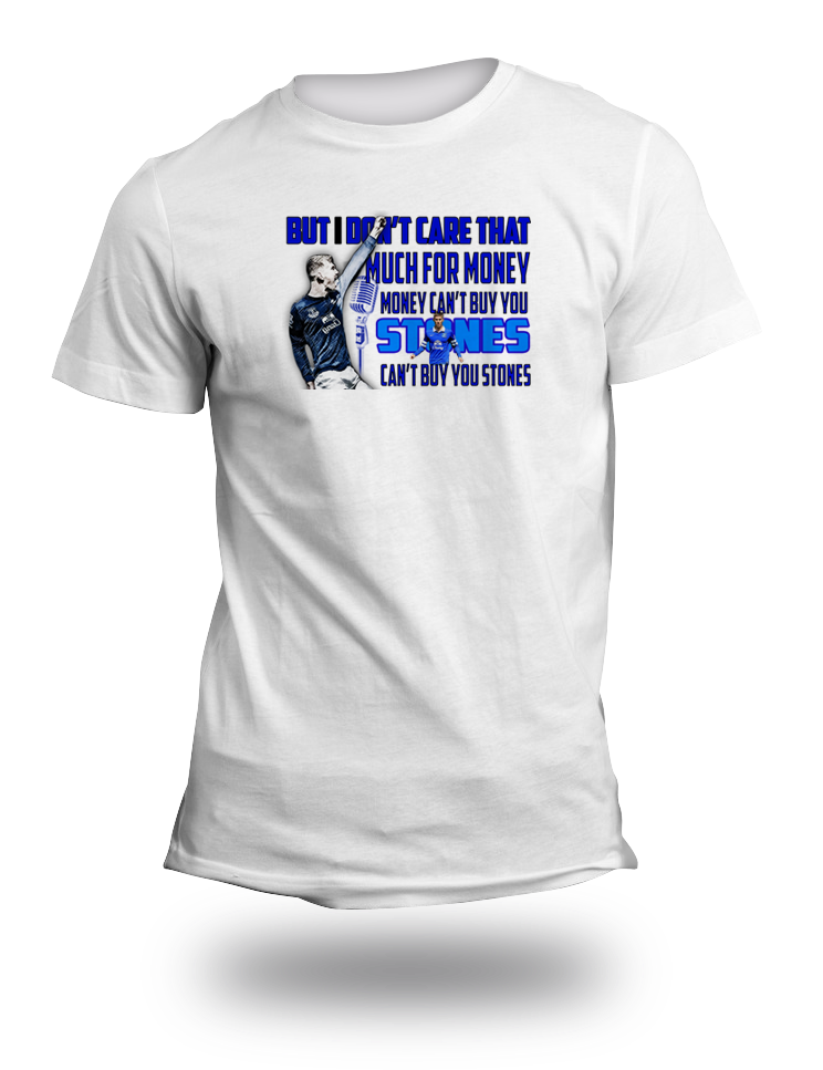 Everton Money Cant Buy You Stones TShirt