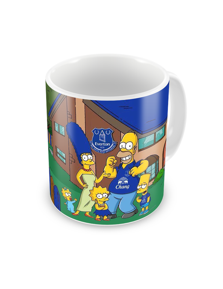 Everton Simpsons Coffee Mug