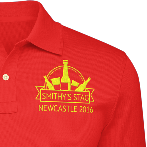 Stag Party Polo Tees