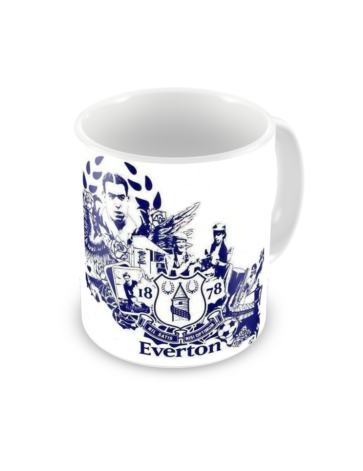 Everton Timeline Coffee Mug