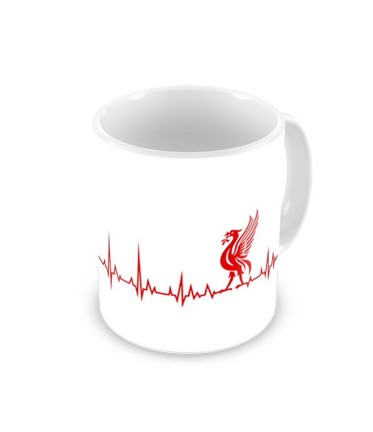 Liverpool Heartbeat Printed Coffee Mug