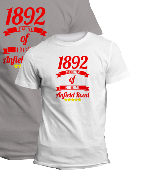 Liverpool The Birth Of Football TShirt