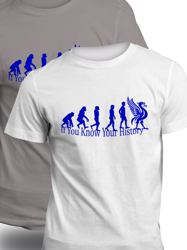 Everton Evolution Tshirt