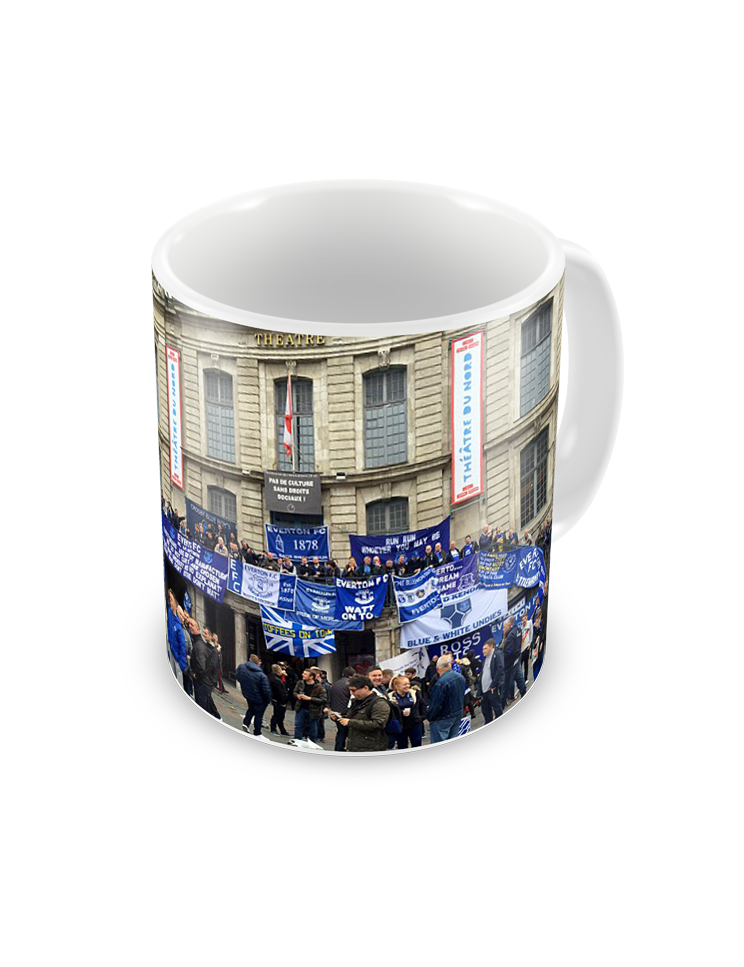 Coffee Maker Lille : Buy Printed Mugs Everton Lille Away Coffee Mug