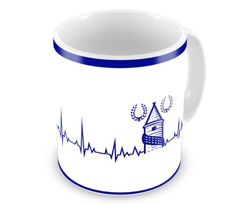 Everton Heartbeat Coffee Mug