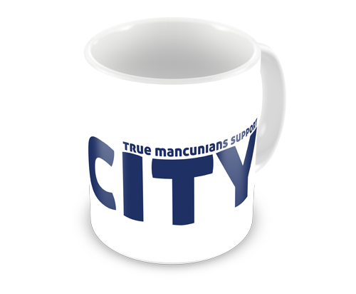 Real Mancunians Support City Coffee Mug