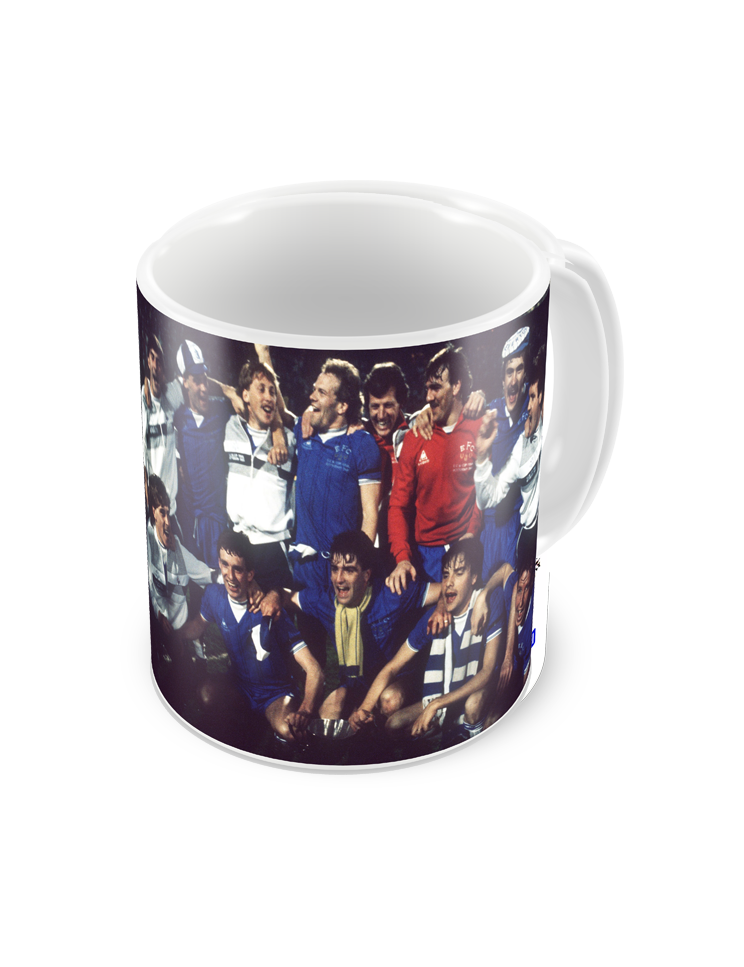 1985 Everton Cup Winners Cup Final Coffee Mug