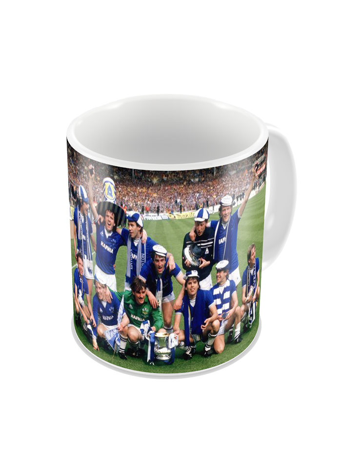 1984 Everton FA Cup Final Coffee Mug