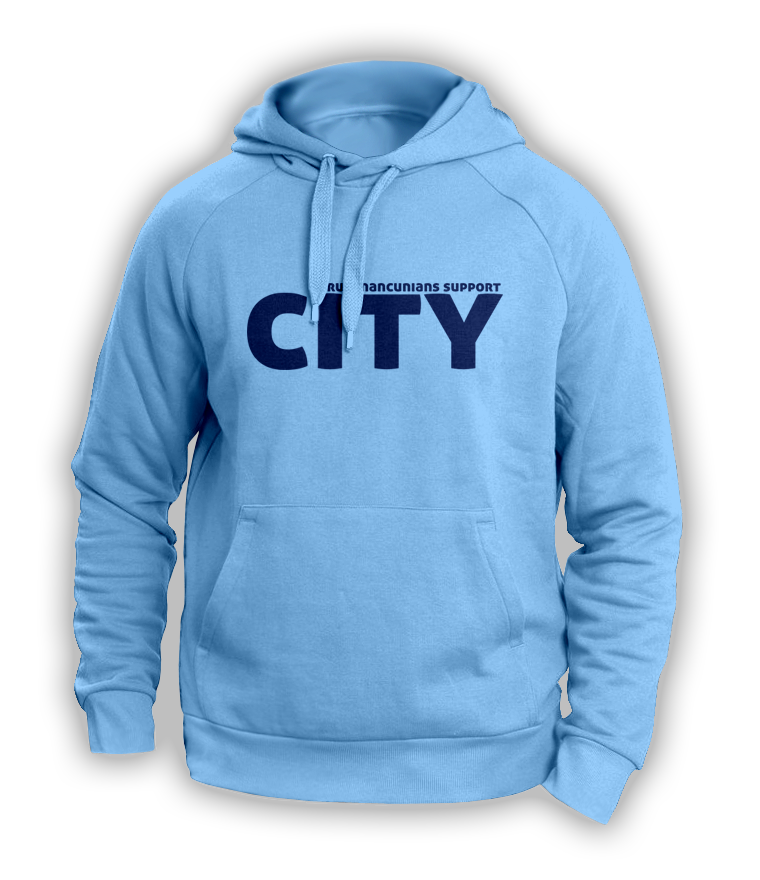 Real Mancunians Support City Hoody