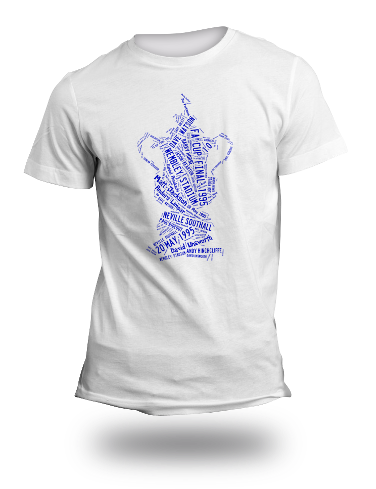 Everton 1995 FA Cup Final TShirt