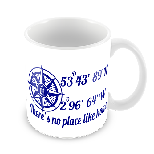 Everton FC Compass Coffee Mug